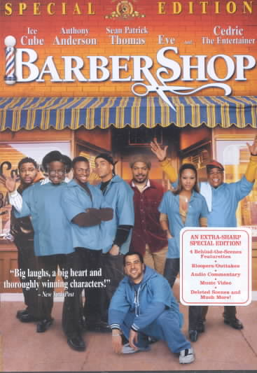 BARBERSHOP BY ICE CUBE (DVD)